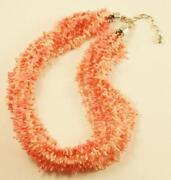 Angel Skin Coral Necklace