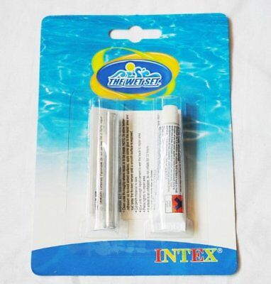 Intex Repair Kit Vinyl Pool And Inflatable Toys Flocked Airbed Lilo Repair Kit