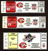 World Series Ticket