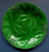 German Majolica Plate