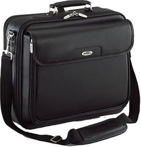 "Targus 15.4"" Leather Clamshell Laptop Case"