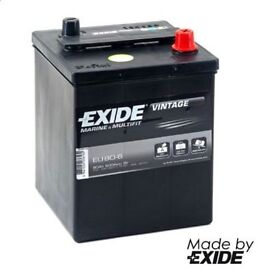 1X Brand New Exide 421 6 Volt 80 AH 600 CCA Classic Car Battery MG TA Austin 7