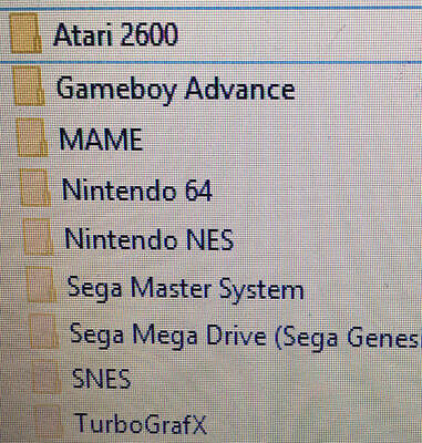 Retro arcade 1 DVD Games Pack - Mame - Atari2600 + 7k games just for PC