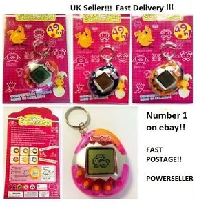 Virtual-Pet-Like-Tamagotchi-49-In-1-Cyber-Pet-Toy-Retro-Blue-Pink-Orange