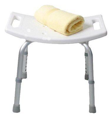 Sgabello Doccia per Anziani Disabili Sedia Sedile Vasca Bagno Altezza Regolabile