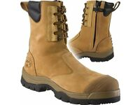 NEW Oliver Safety Boots AT-55 UK 10.5 Zip & Lace