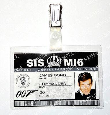 James Bond 007 Roger Moore Prop Fancy Dress Cosplay Costume Comic Con Halloween