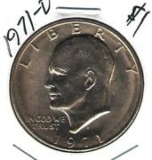 1971 One Dollar Coin