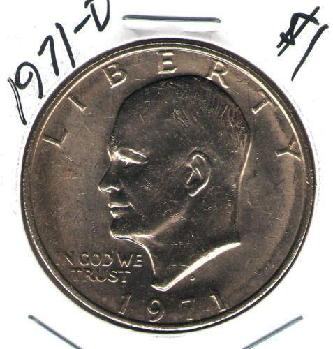 1971 One Dollar Coin Ebay