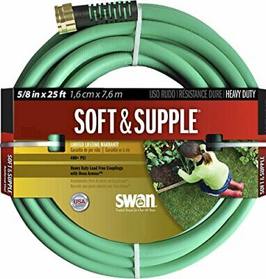 Swan Products SNSS58025 Soft & Supple Easy Coil Water Hose