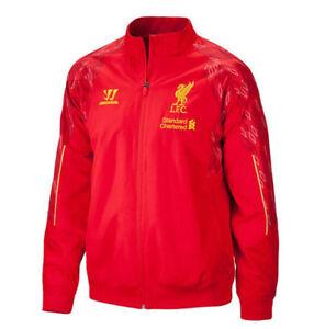 Liverpool FC Warrior Presentation Training Press Jacket RED LFC - Rare ! 2XL