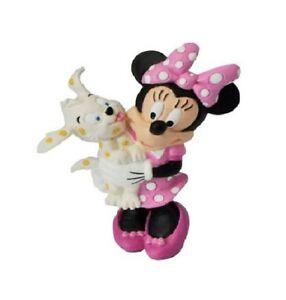 Figura-DISNEY-La-casa-de-Mickey-MINNIE-con-Perro-7-cm-nueva