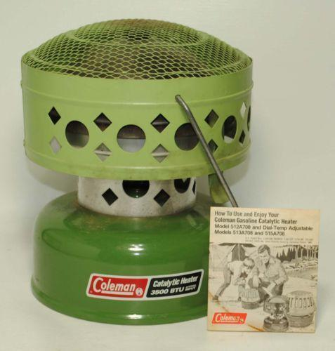 Coleman Camping Heater Ebay