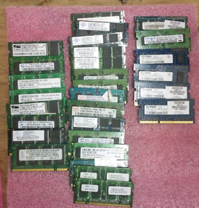 Laptop RAM - DDR2 and DDR3