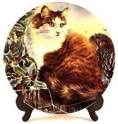 Royal Doulton Cat Plates
