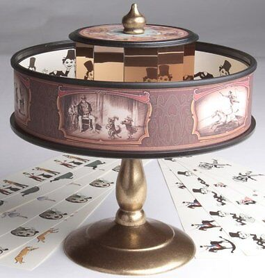 Praxinoscope Animation Classic Vintage Optical Illusion Toy | Zoetrope Similar