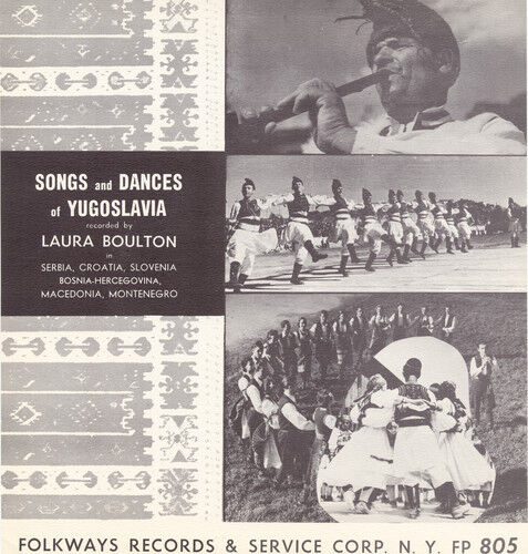Various Artists - Songs Dances Yugoslavia / Various [New CD]
