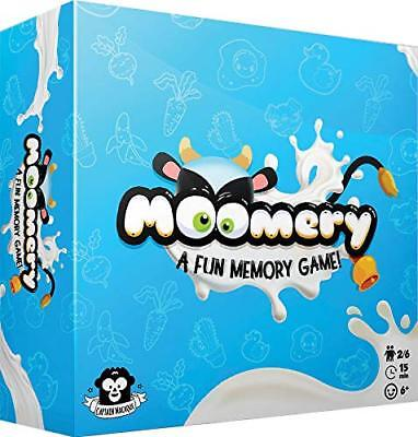 Moomery Memory Game Asmodee Captain Macaque ASM MOO01 Family Party Fast Quick
