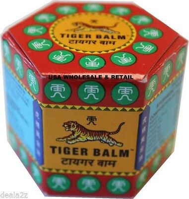 Buy 4 Get 1 Free   18G Tiger Balm Red Arthritis Pain Joints Headache Relief Ache