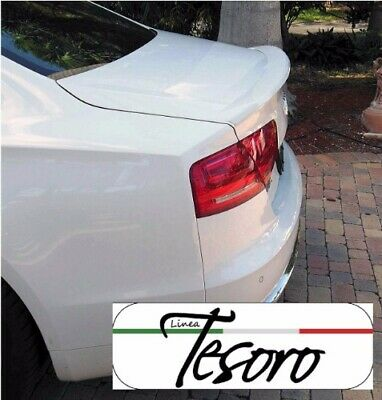 2010-2017 Audi A8 Tesoro Style Rear Lip Spoiler (PAINTED)