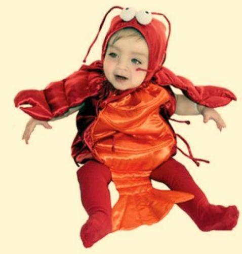 Lobster Baby Costume