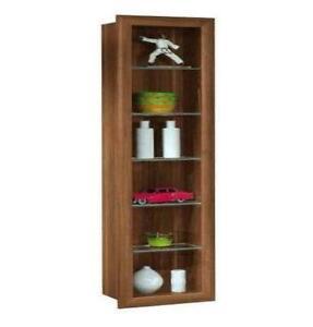 Living Room Beech Corner Cabinets With Doors