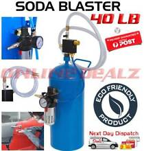 40LB Portable Soda Blaster Pressure Air Sand Blaster Abrasive NEW Castle Hill The Hills District Preview