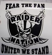 Raider Nation Decal