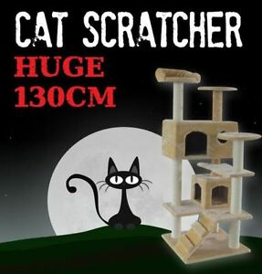 Deluxe Cat Scratcher Tree House BRAND NEW! Baulkham Hills The Hills District Preview