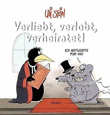 Uli Stein, Verliebt, verlobt, verheiratet Buch Cartoon-Buch Hardcover
