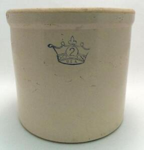 Crown Crock Ebay