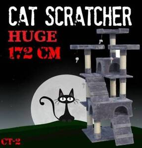 172CM Deluxe Cat Scratcher Scratching Post Scratch Pole Tree CT-2 Castle Hill The Hills District Preview
