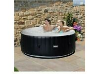 WAVE SPA 4 PERSON INFLATABLE HOT TUB WITH ACCESSORIES BRAND NEW SEALED IN BOX, CAN DELIVER LOCALLY