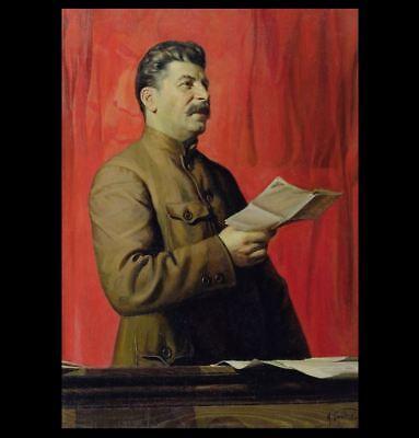 Joseph Stalin PHOTO Portrait Soviet Union Russian Dictator Communist Party