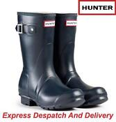 Short Hunter Wellies Size 4