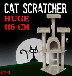 116CM Deluxe Cat Scratcher Scratching Post Scratch Pole Tree CT-3 Castle Hill The Hills District Preview