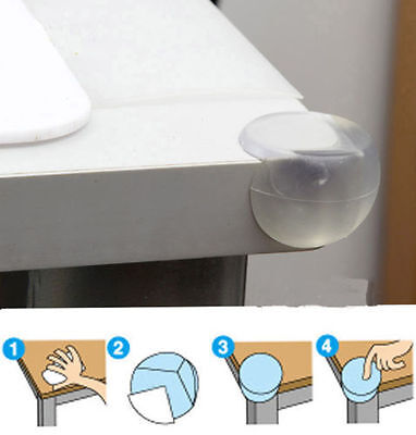 10x  Child Baby Safe silicone Protector Table Corner Edge Protection Cover LWY