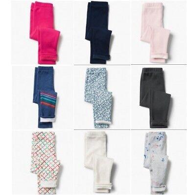 Gymboree Warm & Fuzzy Soft Plush Fleece Leggings Size 4 5-6 7-8 10-12 14