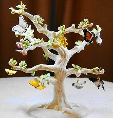 Lenox ~ SPRING 10 Piece Miniature Ornaments Set      No Tree New in BOX