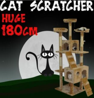 HUGE 180CM Cat Scratching Post Tree House BRAND NEW Baulkham Hills The Hills District Preview