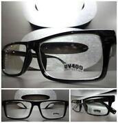 Mens Black Frame Glasses