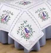 Stamped Cross Stitch Quilt