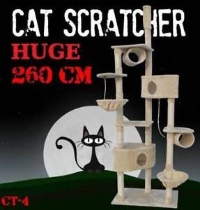 260CM Deluxe Cat Scratcher Scratching Post Scratch Pole Tree CT-4 Castle Hill The Hills District Preview