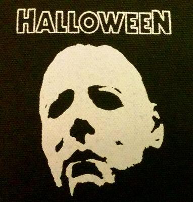 Halloween / Michael Myers - PATCH canvas screen print HORROR - John Carpenter