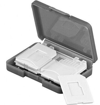 transportbox aufbewahrungsbox für sichere aufbewahrung von 4 x sd speicherkarten
