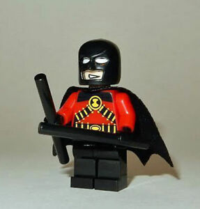 Red Robin minifigure custom  Batman DC Movie  toy comic