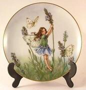 Flower Fairy Plates