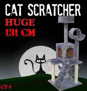 131CM Deluxe Cat Scratcher Scratching Post Scratch Pole Tree CT-1 Castle Hill The Hills District Preview
