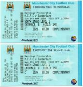 Man City Tickets
