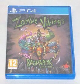 SONY PLAYSTATION PS4 GAME ZOMBIE VIKINGS RAGNAROK EDITION 12 RISING STAR GAMES.*